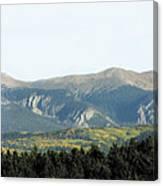 Wheeler From Bobcat Pass Canvas Print