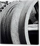 Wheels And Pulleys  Canvas Print