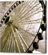 Wheels In The Wind Canvas Print
