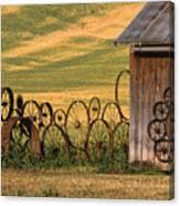 Wheels Of The Palouse Canvas Print