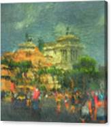 When In Rome 52 - Lasting Impression Canvas Print