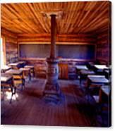 When School Was In 1-room Canvas Print