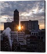 When The City Sleeps Canvas Print