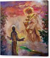 when the Lord called Moses Canvas Print