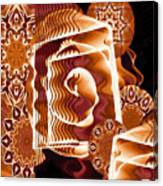 When Worlds Kaleide Canvas Print