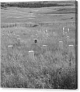 Where Custer Fell, Little Big Horn Canvas Print