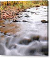 Where Peaceful Waters Flow Canvas Print