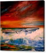 Where Sailfish Play Canvas Print