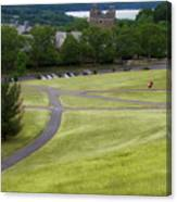 Where The Paths Cross Cornell University Ithaca New York Canvas Print