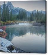 Where The River Bends Canvas Print
