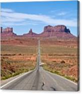 Where The Road Leads Canvas Print