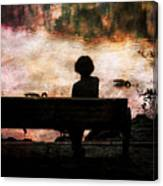 Where We Used To Sit 1 Canvas Print