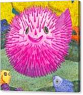 Where's Pinkfish Canvas Print