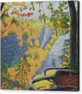 Whetstone Gulf State Park Ny Gorge Canvas Print