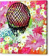 Whimsical Musing High In The Air Canvas Print