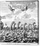 Whirlpool: Maelstrom, 1678 Canvas Print