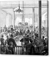 Whiskey Ring Trial, 1876 Canvas Print
