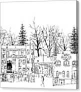 Whiskey Row Alley, Prescott Canvas Print