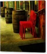 Whiskey Row Canvas Print