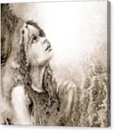 Whisper A Little Prayer For Me Canvas Print