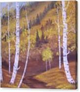 Whisper Of Leaves Canvas Print