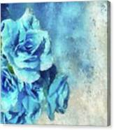 Whispers Of Blue Canvas Print