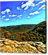 Whitakers Point View Canvas Print