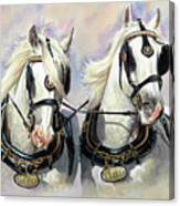 Whitbread Shires Canvas Print