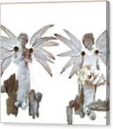 White Angels Canvas Print