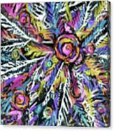 White Ferns - Detail Canvas Print