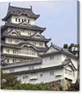 White Heron Castle - Himeji City Japan Canvas Print