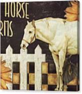 White Horse Farms Vermont Canvas Print