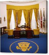 White House: Oval Office Canvas Print