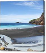 White Island In New Zealand Canvas Print