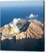 White Island Canvas Print