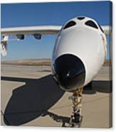 White Knight 2 Edwards Air Force Base Canvas Print