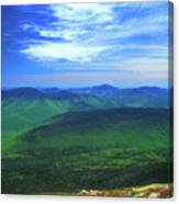 White Mountain Leafout From Franconia Ridge Canvas Print