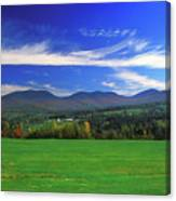 White Mountains From Route 2 Canvas Print
