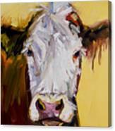 White One Canvas Print