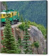 White Pass Train Alaska - Canada Canvas Print