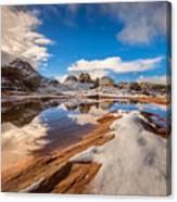White Pocket Northern Arizona Canvas Print