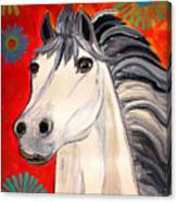White Princes Canvas Print