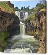White River Falls B Canvas Print