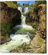 White River Falls D Canvas Print