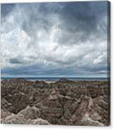 White River Valley Overlook Panorama 2  Canvas Print