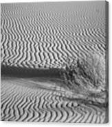 White Sands Ripples Canvas Print