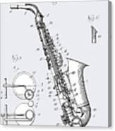 White Sax Canvas Print