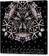 White Seastar Canvas Print