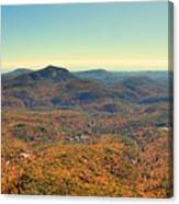 White Side Mountain Panorama Canvas Print