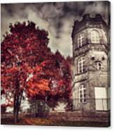White Tower Of Autumn Canvas Print